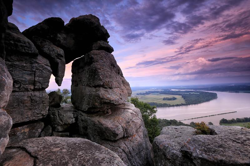 Stouts Point - Petit Jean State Park - Arkansas - 2017