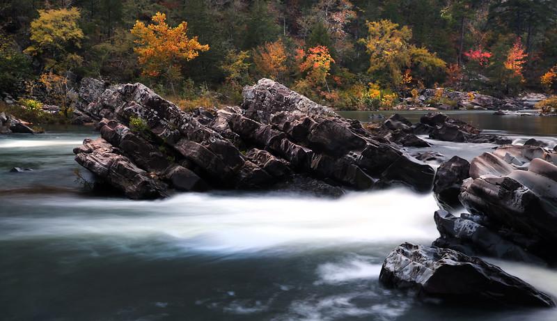 Cossatot Falls State Park - Fall 2013