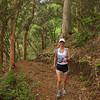 Verna on the Maunawili Trail.