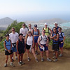 At the top of the Kuliouou Trail with koko Head and Hawaii Kai below.