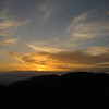 Sunset from the Kalawahine Trail on Tantalus