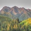 Mount Koahuanui from the top of Tantalus.  Koahuanui is the tallest peak in the Koolau Mountain range.