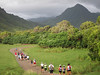 Heading into the valley on the Xterra 5K/10K course