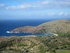 Koko Head with Hanauma Bay.  The Koko Head firing range is in the foreground.