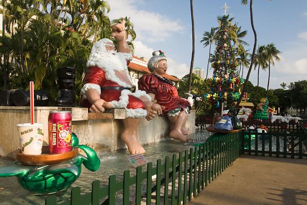 Honolulu Hale Christmas Display 2008