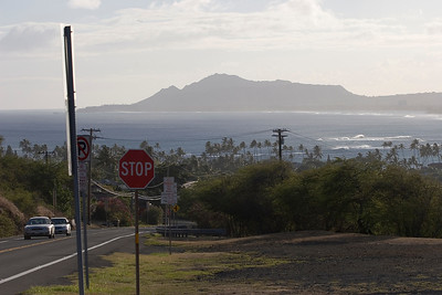 Diamond Head from the east-Hawaii Kai