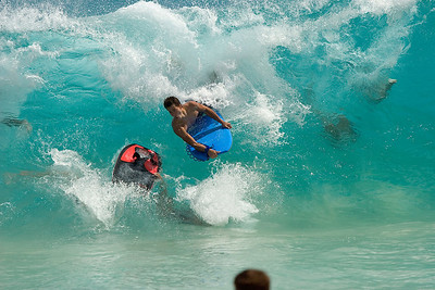 Sandy Beach, Boogie boarder