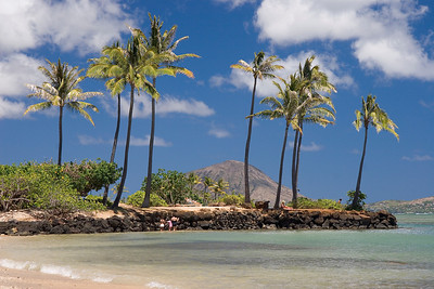 Kahala beach