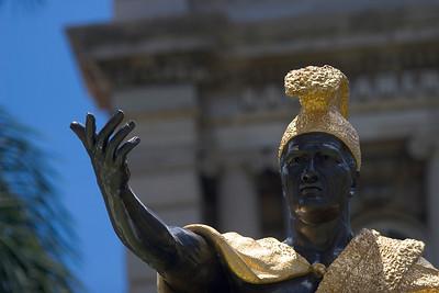 King Kamehameha statue - downtown honolulu