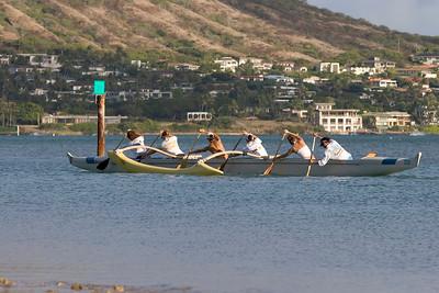 Hawaii Kai-Sailboats-Paddeling