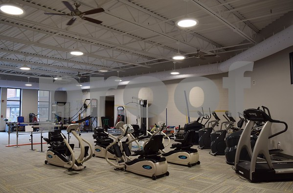 The 70,000-square-foot expansion of Oak Crest DeKalb Area Retirement Center in DeKalb was completed in October. It features a wellness corridor for the center's fitness programs.