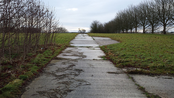 This is the first entrance on the right if you travel from Wroughton.