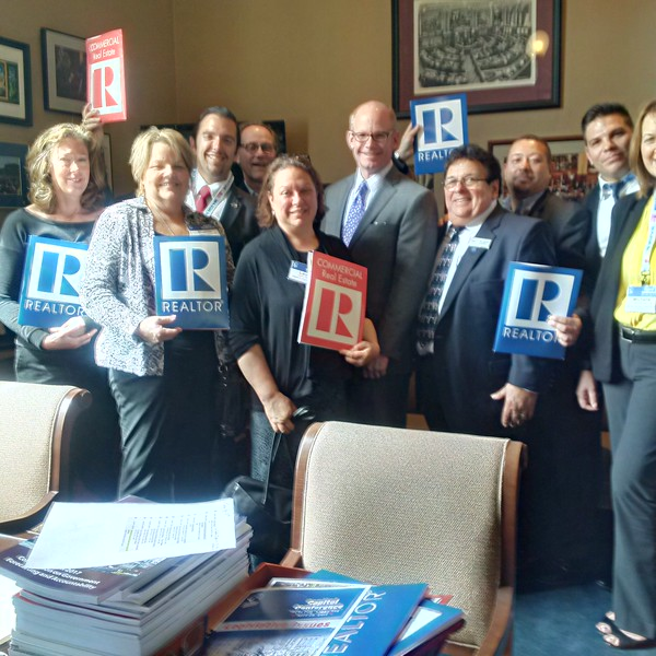 Capitol Conference and REALTOR® Lobby Day 2017 legislative visits