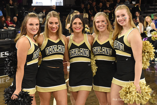 Oakland Men's Basketball VS Green Bay 02-22-18