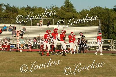 Football vs Smyrna Middle  9/6/17