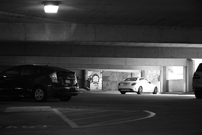Parking garage, Montclair village
