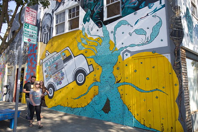 Mural on Telegraph in Temescal