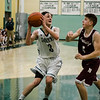 Oakmont's Jamison Dunn in action against Northbridge on Tuesday evening. SENTINEL & ENTERPRISE / Ashley Green