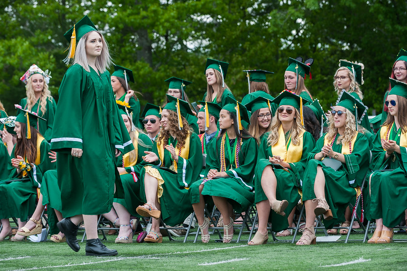 Scenes from the Oakmont Class of 2017 Commencement. SENTINEL&ENTERPRISE/ Jim Marabello