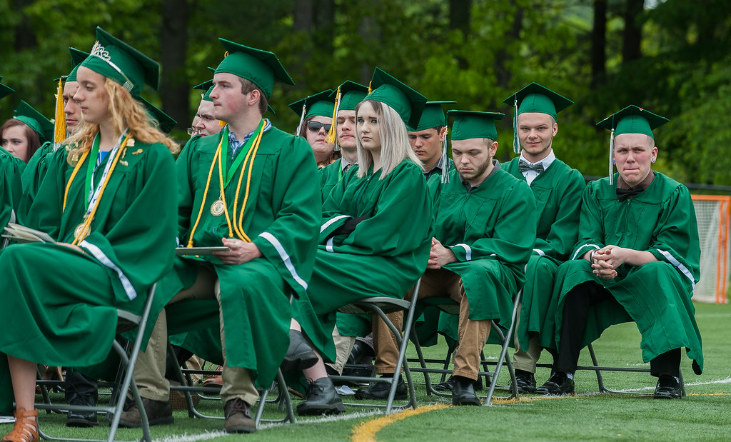 . Scenes from the Oakmont Class of 2017 Commencement. SENTINEL&ENTERPRISE/ Jim Marabello