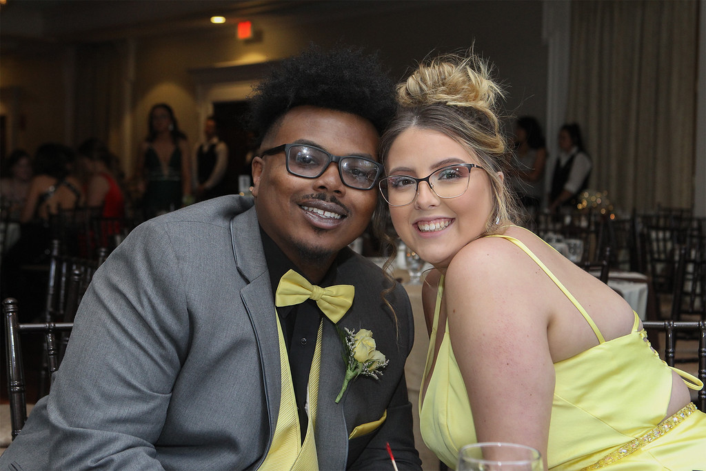 . Duane Smith and Chloe Jess at the prom -Courtesy photo