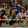 Lunenburg's Amanda Green competes during the track meet at Fitchburg High School on Friday, February 3, 2017. SENTINEL & ENTERPRISE / Ashley Green