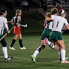 Oakmont's celebrates a goal during the game against North Middlesex on Tuesday evening. SENTINEL & ENTERPRISE / Ashley Green