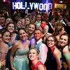 Oakmont Regional High School held its prom at Great Wolf Lodge New England on Saturday night, May 20, 2017. Students pose on the dance floor with the Hollywood sign in the background, the theme of their prom. SENTINEL & ENTERPRISE/JOHN LOVE