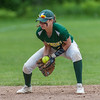Oakmont SS Brihanna Barry fields a grounder against Nipmuc in the Central Mass. Division 2 quarterfinals. SENTINEL&ENTERPRISE/ Jim Marabello