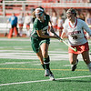 Oakmont's Katherine Haschig in action during the Division 2 state championship game against Watertown on Saturday afternoon at WPI. The Spartans would fall to Raiders 4-3. SENTINEL & ENTERPRISE / Ashley Green