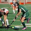 Oakmont's Sarah Craig in action during the Division 2 state championship game against Watertown on Saturday afternoon at WPI. The Spartans would fall to Raiders 4-3. SENTINEL & ENTERPRISE / Ashley Green