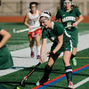Oakmont's Taylor Ladue in action during the Division 2 state championship game against Watertown on Saturday afternoon at WPI. The Spartans would fall to Raiders 4-3. SENTINEL & ENTERPRISE / Ashley Green