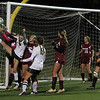 Oakmonts Alyssa Madden gets her leg up trying to deflect the ball in
