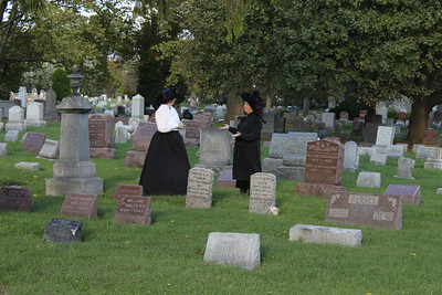 Good Annie and Bad Annie.  Annie Edson Taylor was the first person to go over Niagara Falls in a barrel and survive.  She did this on October 24, 1901 on her 62nd birthday.  Annie was ahead of her time.  Here two Annie's discuss her life by her grave in preparation for the Annie Edson Taylor Spiritual Connection to be held October 21, 2011.  http://myoakwoodcemetery.com   http://www.facebook.com/oakwoodcemeteryniagara