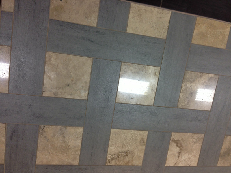 Tile floor design from another source.