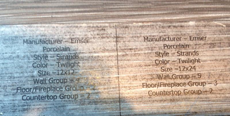 Floor & Shower tile for Basement Bath