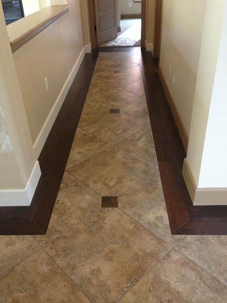 Oakwood Home hallway - Custom