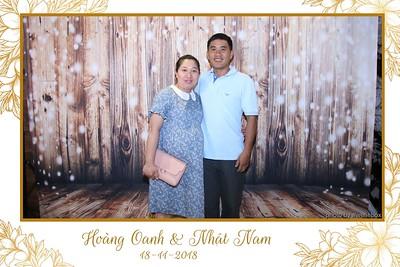 Oanh & Nam Wedding Photobooth in Ho Chi Minh City (Saigon) - Chụp hình in ảnh lấy liền Tiệc cưới tại TP. HCM