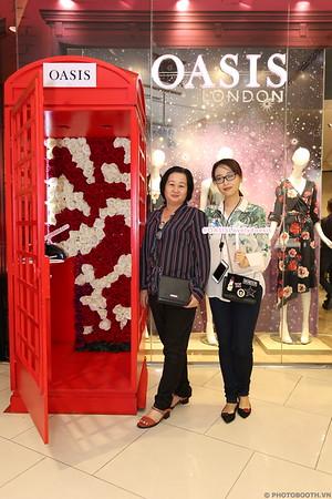 Oasis Fashion Vietnam VIP Event Photobooth @ Saigon Center - Ho Chi Minh City - in ảnh lấy ngay Sự kiện