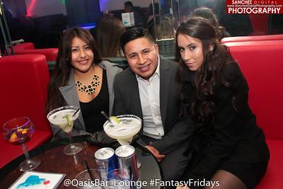 Oasis Lounge 1-29-16 #FantasyFridays
