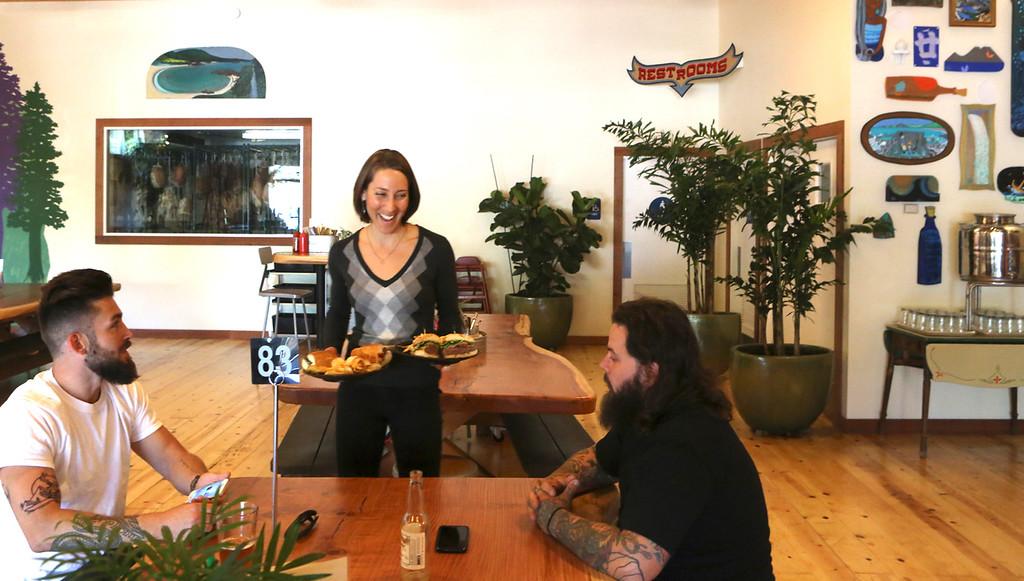 . Oasis Tasting Room and Kitchen  (Shmuel Thaler -- Santa Cruz Sentinel)