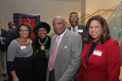 Leah Pimentel, Veronica Hunicutt, Da' Mayor, Dr. Toye Moses, Darolyn Davis