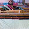 Loom and yarn Lunes Santos 2012