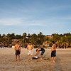 After a swim on Zicatela beach, Puerto Escondido, Oaxaca