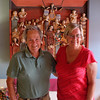 Gil and Margie at home in Oaxaca