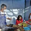 Taco stand at Carmen Alto fair