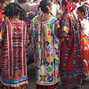 Colorful Traditional Costumes Of Oaxaca