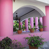 The Vibrant Pink Columns Will Stop You In Your Tracks