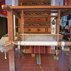 Lovely Rugs Are Created On This Large Loom