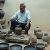 A Potter In Coyotepec,Oaxaca, Making The Black Ware